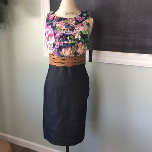 Dresses & Skirts - Alyx Dresses Floral Shift Style Dress belted 8 NWT